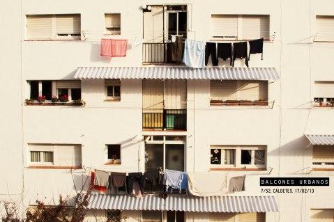 Imagen de balcones en Caldetes
